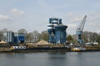 Regional Transhipment Center and concrete plant Nederweert  Netherlands